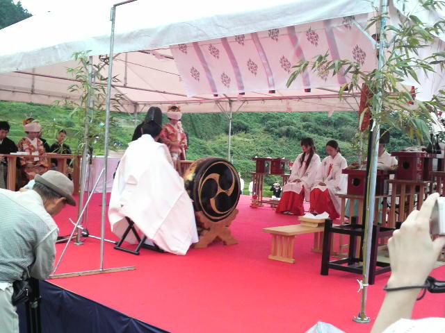 千枚田結婚式